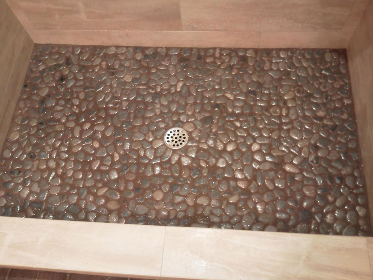 Pebble Stone Flooring Systems Pictures